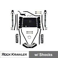 Rock Krawler X Factor Plus Comp 55 Coil Over System (04-06 Wrangler TJ Unlimited) - Rock Krawler RKLJXFCOMP55
