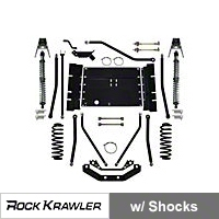 Rock Krawler X Factor Plus Comp 55 Coil Over System (97-02 Wrangler TJ) - Rock Krawler RKTJCOMP55-01