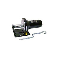 Superwinch X1 24V DC 2,000 lbs With Machined 1 1/4 In. Drum-Key And No Sprocket Utility/Trailer/Industrial Winch (Universal Application) - Superwinch 1145