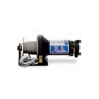 Superwinch X1F 2000 lb. Utility/Trailer/Industrial Winch 12VDC With Removable Switch And Freespooling (Universal Application) - Superwinch 1181