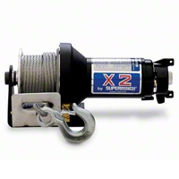 Superwinch X2 12V DC 3,000 lbs. Utility/Trailer/Industrial Winch (Universal Application) - Superwinch 1201