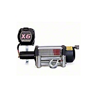 Superwinch X6 X-Treme Duty Winch 6000 lb 12VDC With Roller Fairlead (Universal Application) - Superwinch 1646A