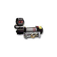 Superwinch X9 12V DC Winch Rated Line Pull Of 9,000 lbs./4091 kgs. (Universal Application) - Superwinch 1901
