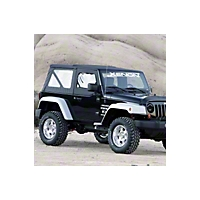 Xenon Step Down Fender Flares 4 Piece Kit (07-13 Wrangler JK 2 Door) - Xenon 8860