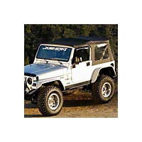 Xenon Tubular Flat Panel Fender Flares 4 Piece Kit (07-13 Wrangler JK 2 Door) - Xenon 8870