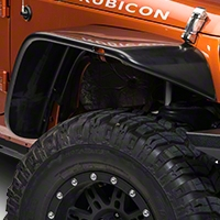 Xenon Tubular Flat Panel Fender Flares 4 Piece Kit (07-15 Wrangler JK 4 Door) - Xenon 9010