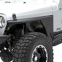 Smittybilt XRC Armor Front Tube Fenders (87-95 Wrangler YJ) - Smittybilt 76862