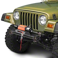 Rough Country X-Series Flat Winch Plate (87-06 Wrangler YJ & TJ) - Rough Country 1189