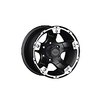 Black Rock Wheel Series 900 Viper Black Wheel 17x8 (87-06 Wrangler YJ & TJ) - Black Rock Wheel 900B781245