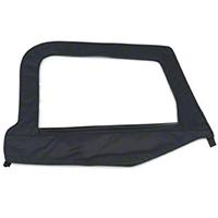 Smittybilt Replacement Upper Door Skin w/ Frame, Passenger Side (97-06 Wrangler TJ) - Smittybilt 79535