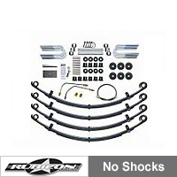 Rubicon Express Leaf Spring Lift - 2.5 In., No Shocks (87-05 Wrangler YJ) - Rubicon Express RE5505-NS