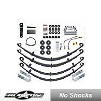 Rubicon Express Leaf Spring Lift - 4 In., No Shocks (87-05 Wrangler YJ) - Rubicon Express RE5515-NS