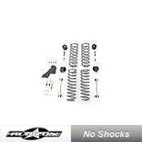 Rubicon Express 2.5 in. Standard Coil Spring Lift Kit (07-13 Wrangler JK 4 Door) - Rubicon Express RE7141