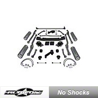 Rubicon Express 3.5 in. Extreme-Duty Long Arm Lift Kit, No Shocks (07-13 Wrangler JK 4 Door) - Rubicon Express RE7363