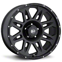 Pro Comp Alloys Series 7005 Wheel, Flat Black, 5x5 - 17x8 (07-13 Wrangler JK) - Pro Comp Alloys PXA7005-7873