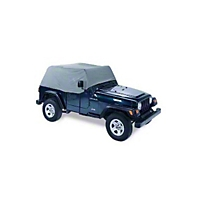 Pavement Ends Canopy Cover, Charcoal (87-91 Wrangler YJ) - Pavement Ends 41727-09