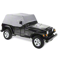 Pavement Ends Canopy Cover, Charcoal (97-06 Wrangler TJ) - Pavement Ends 41729-09