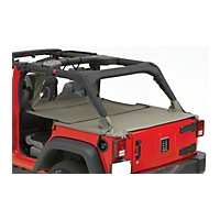 Pavement Ends Cargo Cover (07-13 Wrangler JK 4 Door) - Pavement Ends 41829-35