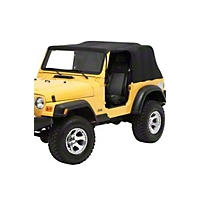 Pavement Ends Emergency Top-Black (04-06 Wrangler TJ Unlimited) - Pavement Ends 56813-01