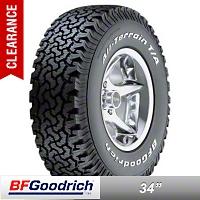 BF Goodrich All Terrain T/A KM2 305/65R18 (87-16 Wrangler YJ, TJ & JK) - BF Goodrich 35237