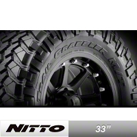 NITTO Trail Grappler 33x12.50R15 (87-15 Wrangler YJ, TJ & JK) - NITTO 205-850
