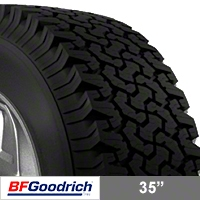 BF Goodrich All Terrain T/A KM2 35x12.50R15 (87-15 Wrangler YJ, TJ & JK) - BF Goodrich 49774