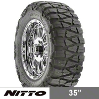 NITTO Mud Grappler LT315/75R16 (87-15 Wrangler YJ, TJ & JK) - NITTO 201-050