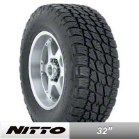 NITTO Terra Grappler LT265/75R16 (87-15 Wrangler YJ, TJ & JK) - NITTO 200-010