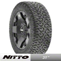 NITTO Dune Grappler 31X10.5R15 (87-15 Wrangler YJ, TJ & JK) - NITTO 202-840