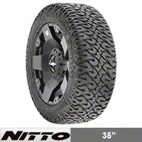 NITTO Dune Grappler 325/65R18 (87-15 Wrangler YJ, TJ & JK) - NITTO 202-850
