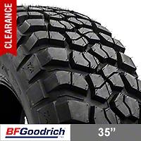 BF Goodrich Mud Terrain T/A KM2 315/75R16 (87-15 Wrangler YJ, TJ & JK) - BF Goodrich 24970
