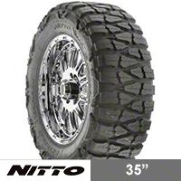 NITTO Mud Grappler 35x12.50R18 (87-16 Wrangler YJ, TJ & JK) - NITTO 200-550