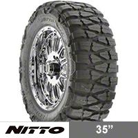 NITTO Mud Grappler 35x14.50R15 (87-15 Wrangler YJ, TJ & JK) - NITTO 200-580