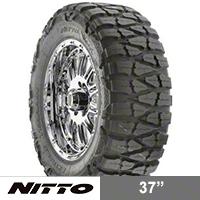 NITTO Mud Grappler 37X13.50R17 (87-15 Wrangler YJ, TJ & JK) - NITTO 200-600
