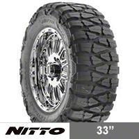 NITTO Mud Grappler 33x13.50R15 (87-16 Wrangler YJ, TJ & JK) - NITTO 200-650