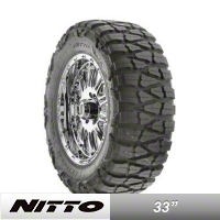 NITTO Mud Grappler 33x12.50R17 (87-15 Wrangler YJ, TJ & JK) - NITTO 200-760