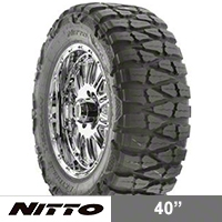 NITTO Mud Grappler 40X13.50R17 (87-15 Wrangler YJ, TJ & JK) - NITTO 200-770