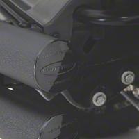 Smittybilt Tubular Rear Bumper w/ Hitch, Gloss Black (07-15 Wrangler JK) - Smittybilt JB48-RH