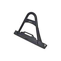 OR-Fab Front Winch Bumper w/Stinger, Bicycle Black (97-06 Wrangler TJ) - OR-Fab 83662BB
