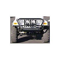 OR-Fab Rock Slider Front Bumper, Wrinkle Black (87-95 Wrangler YJ) - OR-Fab 83095