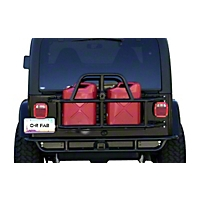 OR-Fab Swing Away Tire/Can Carrier, Wrinkle Black (97-06 Wrangler TJ) - OR-Fab 85201