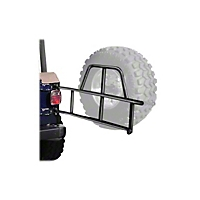 OR-Fab Swing Away Tire Carrier, Wrinkle Black (97-06 Wrangler TJ) - OR-Fab 86201