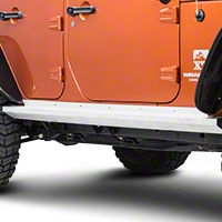 TeraFlex Rock Slider KIT NO PAINT (07-13 Wrangler JK 4 Door) - Teraflex 4937310