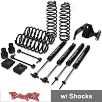TeraFlex 2.5 in. Lift Kit w/ Shocks (07-13 Wrangler JK 2 Door) - Teraflex 1251002