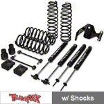 Teraflex 2.5 in. Lift Kit w/ Shocks (07-14 Wrangler JK 2 Door) - Teraflex 1251002
