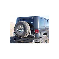 OR-Fab Non-Can Tire Carrier, Wrinkle Black (07-13 Wrangler JK) - OR-Fab 85208