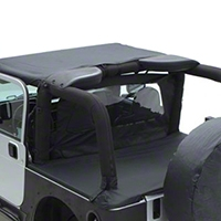 Smittybilt Tonneau Cover - For OEM Soft Top W/ Channel Mount - Black Diamond (97-06 Wrangler TJ) - Smittybilt 761035