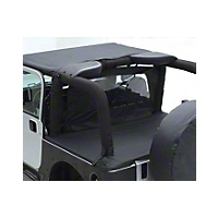 Smittybilt Tonneau Cover - For OEM Soft Top W/ Channel Mount - Black Diamond (04-06 Wrangler TJ Unlimited) - Smittybilt 761135
