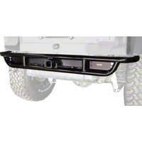 OR-Fab Rock Slider Rear Bumper, Wrinkle Black (87-06 Wrangler YJ & TJ) - OR-Fab 83100
