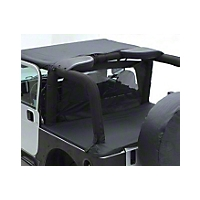 Smittybilt Outback Wind Breaker, Black Diamond (07-13 Wrangler JK 2 Door) - Smittybilt 90235